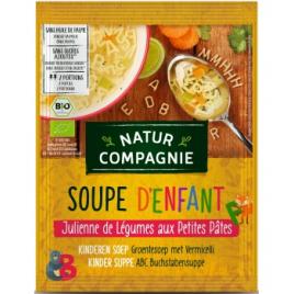 Natur Compagnie Soupe julienne de légumes aux petites pâtes 50 g Natur Compagnie
