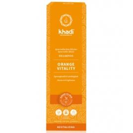 Khadi Shampoing ayurvédique Orange Vitality 200 ml Khadi