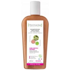 Dermaclay Shampooing Cuir Chevelu Sensible 400ml Dermaclay