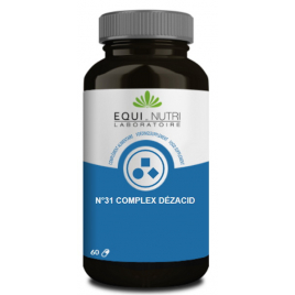 Equi - Nutri Dezacid 60 gélules végétales Equi - Nutri