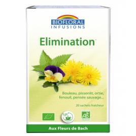 Biofloral Infusion Elixir Élimination Amincissement Reminéralisation 24g Biofloral