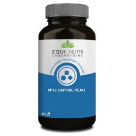Equi - Nutri Capital Peau Complexe No 23 60 gélules végétales Equi - Nutri
