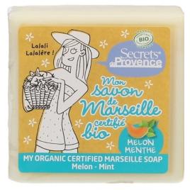 Secrets De Provence Mon savon de marseille Melon et Menthe Secrets De Provence