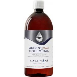 Argent colloïdal Oligo élément 20 PPM Catalyons 1000ml Catalyons