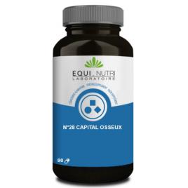 Equi - Nutri Capital Osseux Complexe No 28 90 gélules Equi - Nutri
