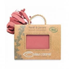 Couleur Caramel Fard à joues n°57 vieux rose 6.5g Couleur Caramel Joues bio Onaturel.fr