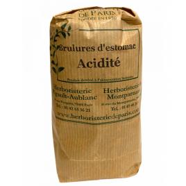 Herboristerie de Paris Tisane Brulures d'estomac acidité 100gr Herboristerie De Paris