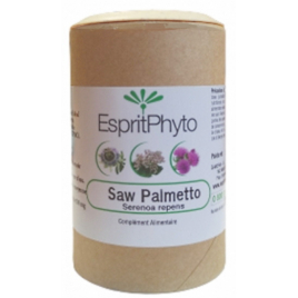 Esprit phyto Saw Palmetto gelules Esprit phyto
