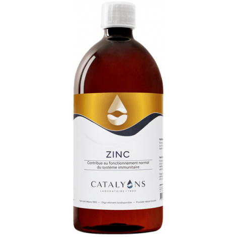 Catalyons Zinc 1 litre oligo-éléments immunité Onaturel