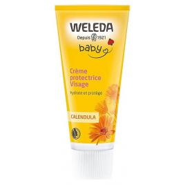 Weleda Crème protectrice Visage bébé Calendula 50ml Weleda