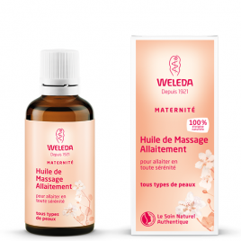 Weleda Huile de massage allaitement 50ml Weleda