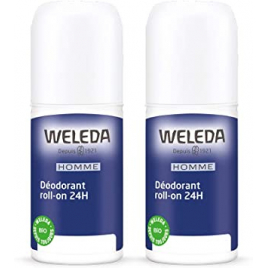 Weleda Duo Déodorant roll on 24h Homme 2x50ml Weleda