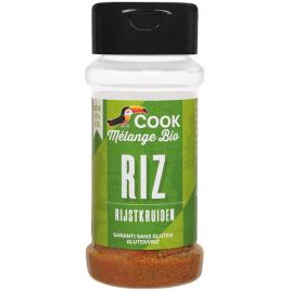 Cook Melange bio riz 27g épices curcuma Onaturel