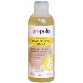 Propolia Shampoing Doux Bio être de mèche Miel et Bambou 200ml Propolia