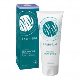 Earth Line Exfoliant pour le visage à la vitamine E 100ml Earth Line