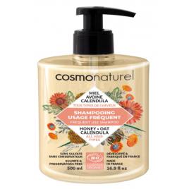 Cosmo Naturel Shampoing usage fréquent Miel Calendula Avoine 500ml Cosmo Naturel