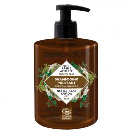 Cosmo Naturel Shampoing cheveux gras Argile ortie 500ml Cosmo Naturel