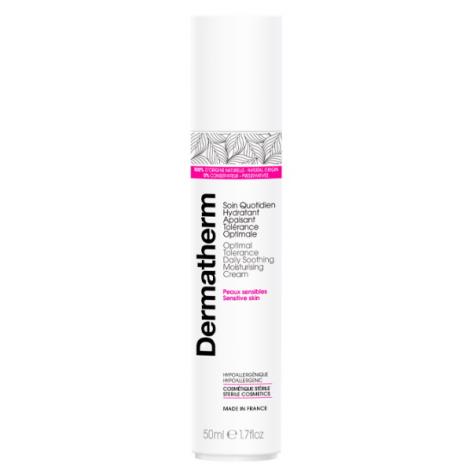 Dermatherm Soin quotidien hydratant apaisant tolérance optimale 50 ml Dermatherm