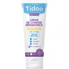 Tidoo Crème Réparatrice Bio Bébé Erycare Zinc et Calendula 75g Tidoo