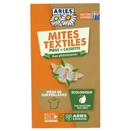 Aries Piège à mites textile Mitbox, 1 pièce anti mites phérormones Onaturel
