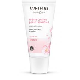Weleda Crème confort peaux sensibles protège et apaise 30ml Weleda