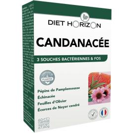 Diet Horizon Candinacée Solution Candida 60 comprimés Diet Horizon