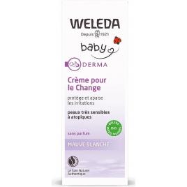 Weleda Crème pour le change Mauve blanche sans parfum 50ml Weleda