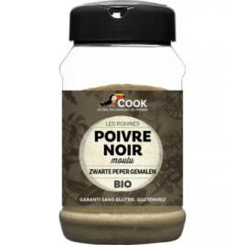 Cook Poivre noir moulu 220g Cook