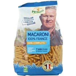Primeal Macaroni demi complets 500g