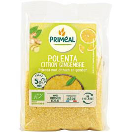 Primeal Polenta Citron et Gingembre prêt en 5 minutes 250g Primeal