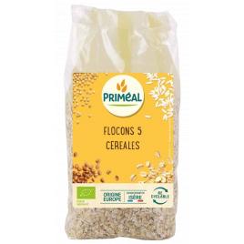 Primeal Flocons 5 céréales 500g