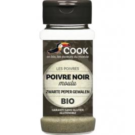 Cook Poivre noir en poudre 45g Cook