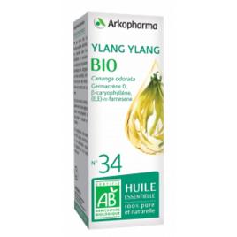 Arkopharma   Huile Essentielle d'Ylang Ylang bio 5ml complément alimentaire Onaturel