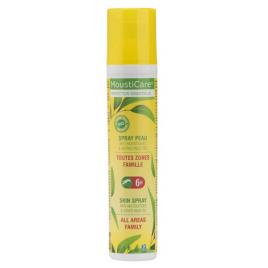 Mousticare Spray peau Famille extrait purifié d'eucalyptus citriodora Aloe vera bio dès 6 mois 125 ml Mousticare