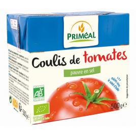 Primeal Coulis de Tomates 500g Primeal
