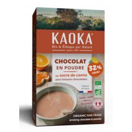 Kaoka Chocolat en Poudre bio 32% de cacao 400g