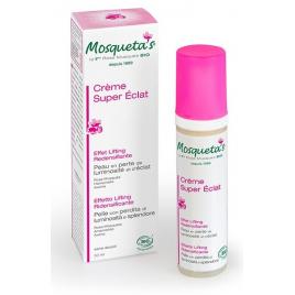 Mosqueta's Crème super éclat effet lifting à la Rose musquée 50ml anti-âge Onaturel