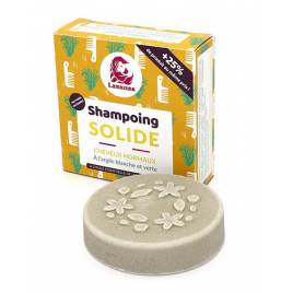 Lamazuna Shampoing solide Cheveux normaux à l'argile blanche et verte 70ml Lamazuna