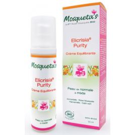Crème rééquilibrante à l'Hélichryse et à La Rose Musquée Elicrisia Purity 50ml Mosqueta's Onaturel