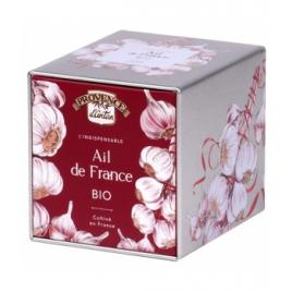 Provence D'Antan Ail bio origine France boîte métal Provence D Antan