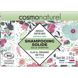 Cosmo Naturel Shampooing solide Cheveux Gras 85gr Cosmo Naturel