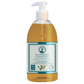 L artisan Savonnier Hygiène Savon liquide Eucalyptus et Menthe 500ml Onaturel