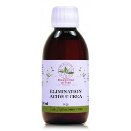Phyto concentré Élimination Acide U et Créa 200 ml Herboristerie de Paris Herboristerie De Paris