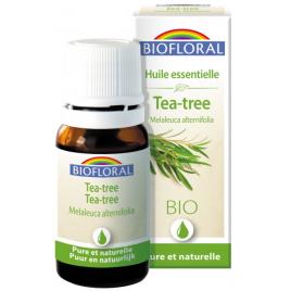 huile essentielle bio d'Arbre à Thé 10 ml Biofloral Onaturel