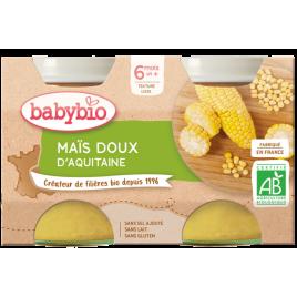 Babybio Mais Doux d'Aquitaine 2x130g dès 6 mois Babybio