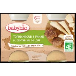 Babybio Petits pots Topinambour et Panais dès 8 mois 2x200g Babybio