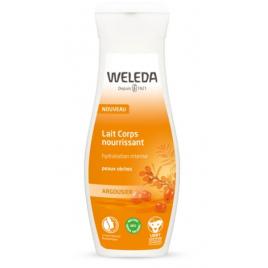 Weleda Lait Corps nourrissant à l'Argousier peaux sèches 200ml Weleda