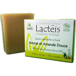 Savon Avocat et Amande douce à 40% de lait d'ânesse le domaine de tamara Onaturel