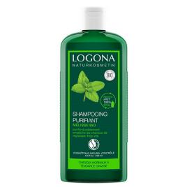 Logona Shampoing purifiant à la Mélisse cheveux gras 250ml Logona