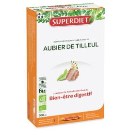 Super Diet Aubier de Tilleul Bio 20 Ampoules dépuratif digestion Onaturel
